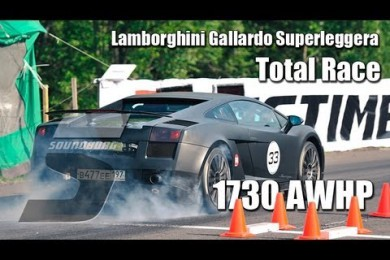 Lamborghini Gallardo Racing Parts